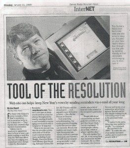 Tool of the Resolution - Rocky Mountain News 1999 - Troy Surratt